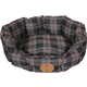Pet Life Water Resistant Round Olive Dog Bed LG