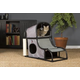 Prevue Catville Loft Cat Furniture Gray