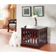 Elegant Home Fashions St Augustine Dog Crate