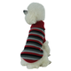 Pet Life Polo Casual Cable Knit Dog Sweater XS