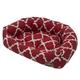 Jax and Bones Monaco Scarlet Napper Dog Bed Xlarge