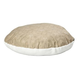 Quiet Time Script Tan Round Pillow Dog Bed 48in