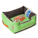 Touchdog Vintage Mint Green Bolster Dog Bed MD