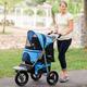 Gen7Pets G7 Jogger Pet Stroller Trailblazer Blue