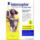 Interceptor 6 Month 6ct Yellow 26-50lbs
