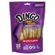Dingo Peanut Butter Rawhide Twist Sticks 25 Pack
