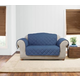 Sure Fit Quilted Denim Loveseat Slipcover