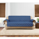 Sure Fit Quilted Denim Sofa Slipcover