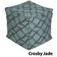 Jax and Bones Crosby Jade Premium Pouf Ottoman