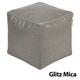 Jax and Bones Glitz Mica Premium Pouf Ottoman