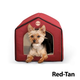 KH Mfg Indoor Red/Tan Pet House