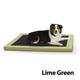 KH Mfg Comfy N Dry Indoor/Outdoor Lime Bed Large