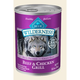 Blue Wilderness Beef/Chicken Can Dog Food 12 Pack