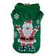 Pet Life LED Hands-Up-Santa Sweater Pet Costume XS