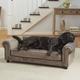 Enchanted Home Pet Manchester Grey Sofa Dog Bed