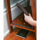 Refined Feline A Frame Cat Bed Mahogany