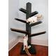 Refined Feline Catalpa Cat Tree Mahogany