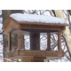 Stovall Wood Pavilion Feeder With Seed Hopper