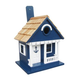Home Bazaar Anchor Cottage Birdhouse Navy