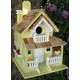 Home Bazaar Backyard Bird Cottage Birdhouse Yellow