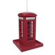 Home Bazaar British Telephone Booth Feeder