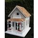 Home Bazaar Newburyport Cottage Birdhouse White