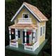 Home Bazaar Newburyport Cottage Birdhouse Yellow