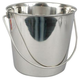 Stainless Steel Pail With Handles - 9 Quart