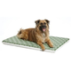 Quiet Time Teflon Green/Fleece Dog Crate Pad 48in