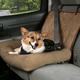 Solvit Car Cuddler Bucket Seat Cover Dog Bed Tan