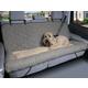 Solvit Car Cuddler Bench Seat Cover Dog Bed Tan