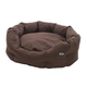 Kruuse Buster Chocolate Dog Cocoon Bed 29.5In
