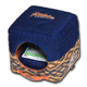 Touchdog 70s Throwback 2in1 Blue Dog House Bed