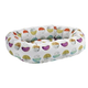 Bowsers Luna Microvelvet Donut Dog Bed XXLarge