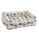 Bowsers Luna Microvelvet Dutchie Dog Bed XLarge