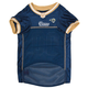 Los Angeles Rams Gold Trim Dog Jersey XSmall
