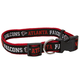 Atlanta Falcons Ribbon Dog Collar Small