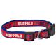 Buffalo Bills Ribbon Dog Collar Large