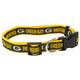 Green Bay Packers Ribbon Dog Collar Small