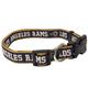 Los Angeles Rams Ribbon Dog Collar Large