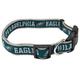 Philadelphia Eagles Ribbon Dog Collar Small