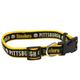 Pittsburgh Steelers Ribbon Dog Collar Small