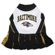 Baltimore Ravens Cheerleader Dog Dress Medium