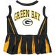 Green Bay Packers Cheerleader Dog Dress XSmall