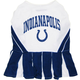 Indianapolis Colts Cheerleader Dog Dress Medium