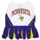 Minnesota Vikings Cheerleader Dog Dress Medium