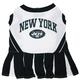 New York Jets Cheerleader Dog Dress XSmall