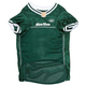 New York Jets White Trim Dog Jersey XSmall