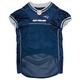 New England Patriots Gray Trim Dog Jersey XSmall