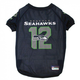 Seattle Seahawks 12th Man Dog Jersey XSmall